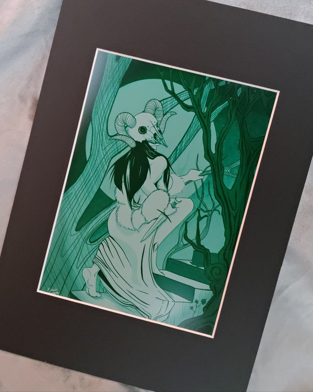GREEN QUEEN - Luxury Heavyweight Print
