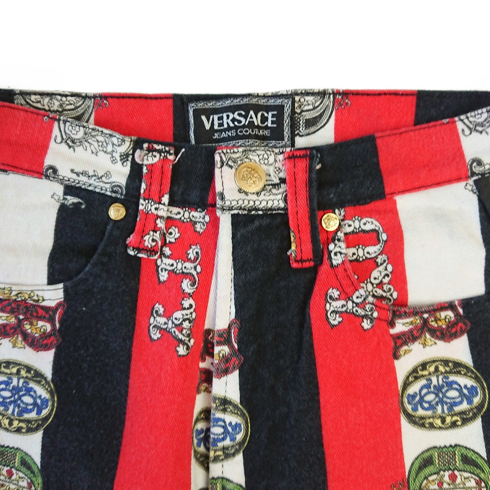 Image of Versace Jeans Couture 1990s Rock & Royalty Jeans