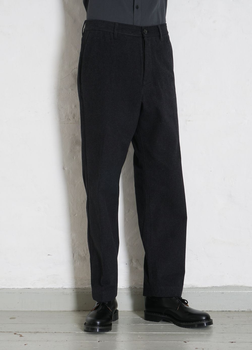 Hansen Garments KEN   Wide Cut Trousers   blackish