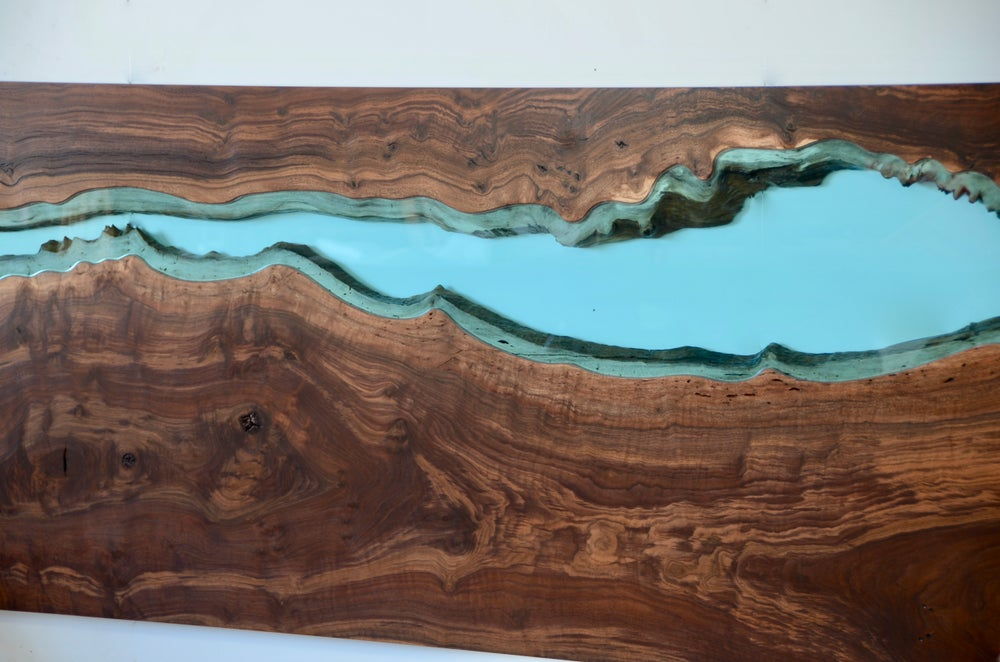 Image of river bed | claro walnut