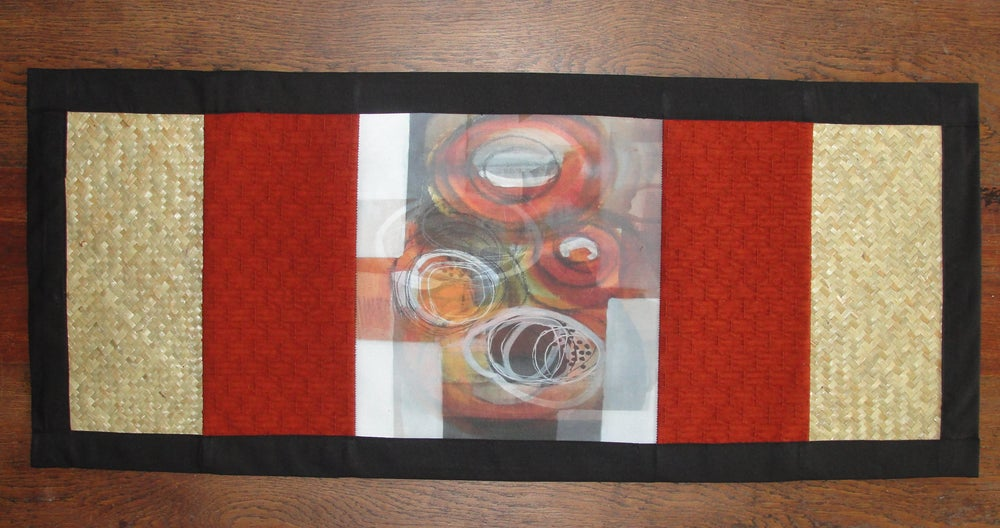 Image of 'Enigma' table runner