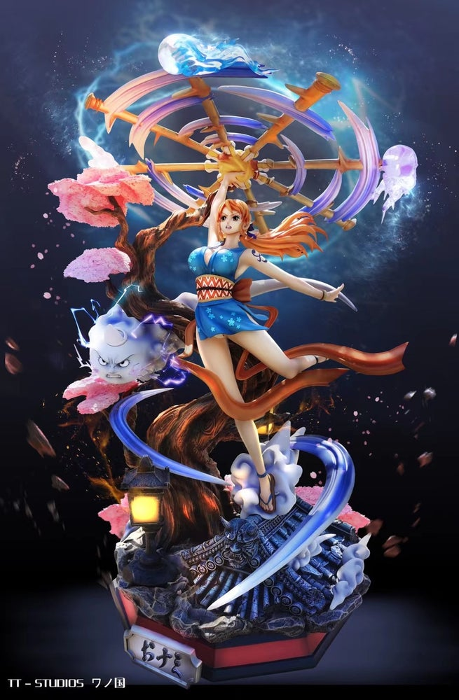 Image of [Pre-Order] One Piece TH Studio Nami 1:6 or 1:4 Resin Statue