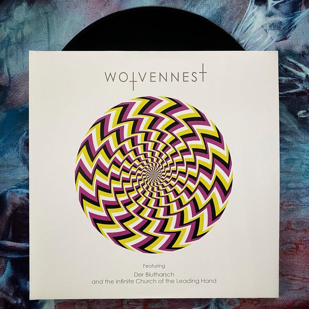 """Wolvennest """"Feat. DER BLUTHARSCH and The Infinite Church Of The Leading Hand"""" 2XLP"""