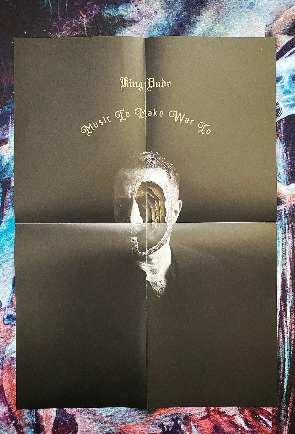 """King Dude """"Music To Make War To"""" LP"""