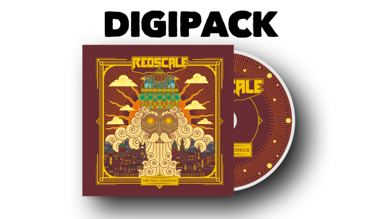 Redscale - The Old Colossus (Digipack)