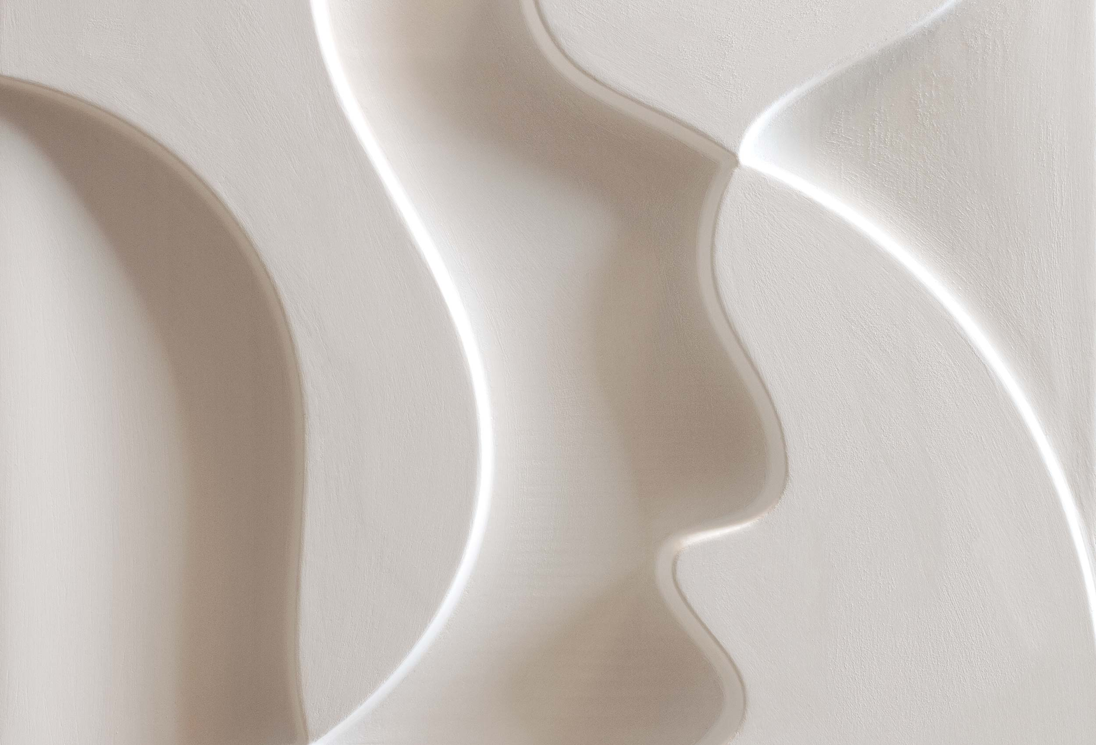 Image of Silhouettes · Plaster Artwork