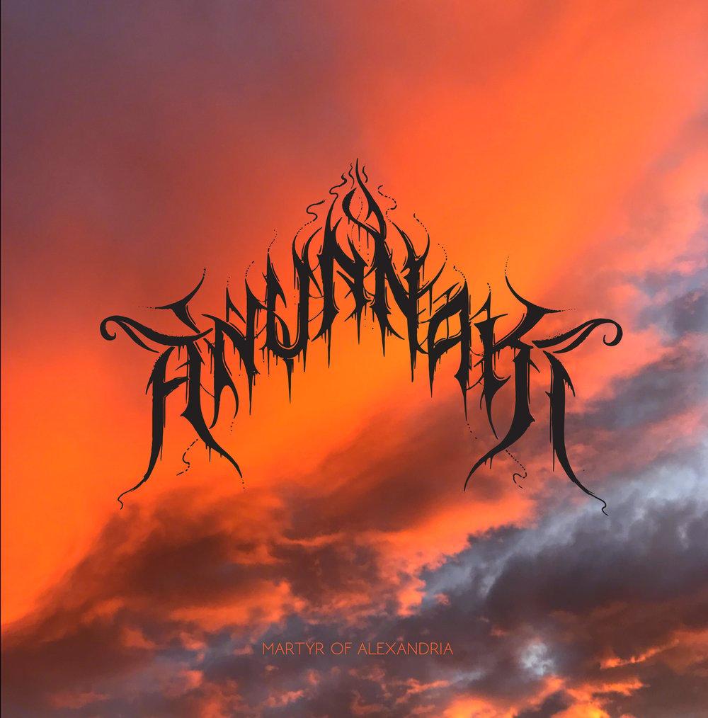 Anunnaki - Martyr Of Alexandria (Sam Giles CDr Edition) Cardinal Fuzz / NAM - 10 LEFT