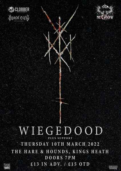 Image of Wiegedood plus support - The Hare & Hounds - Kings Heath, Birmingham