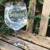 Moon and Stars Gin Glass