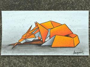"Image of ""Solitary #1"" original watercolour"