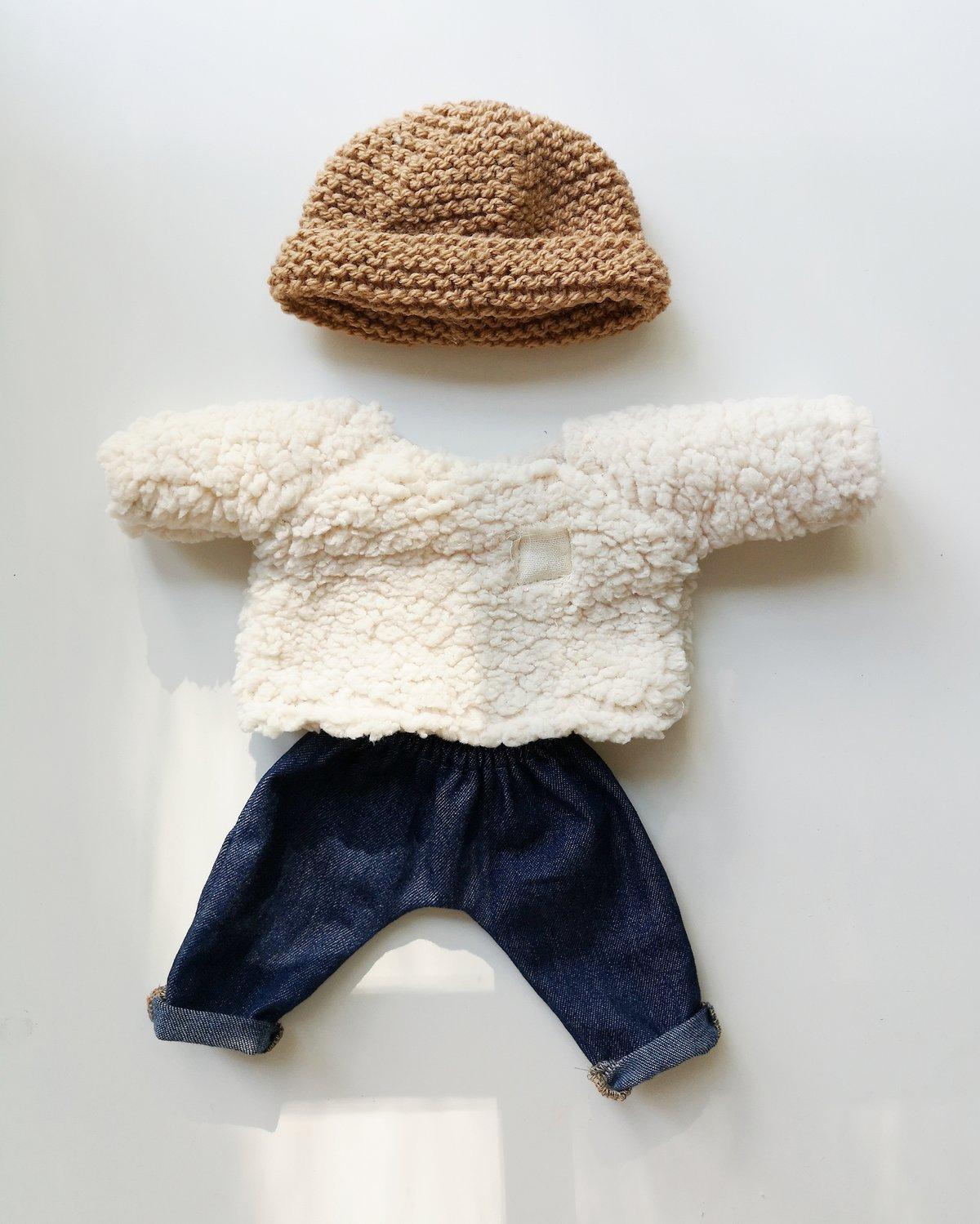Image of Tenue jeans/moumoute