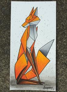 "Image of ""Solitary #3"" original watercolour"