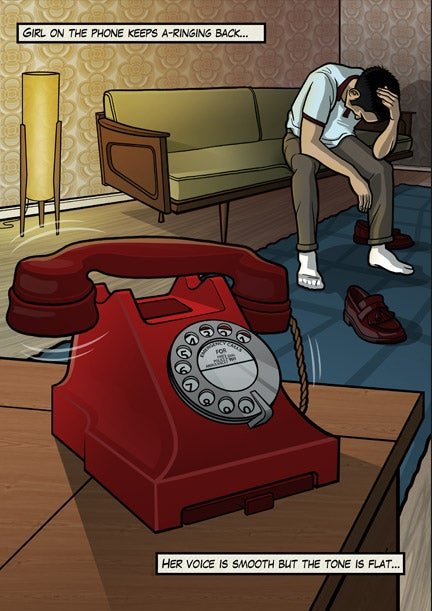 Image of The Jam - Girl On The Phone
