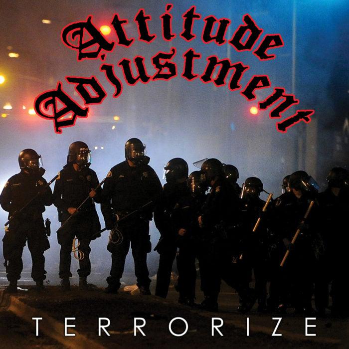 "ATTITUDE ADJUSTMENT ""Terrorize"" LP"