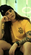 Adult LTS Fat Frog T-shirt, Yellow