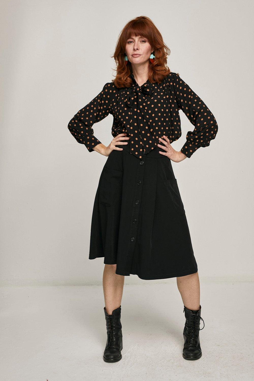 Image of Camisa Amur Negra topos