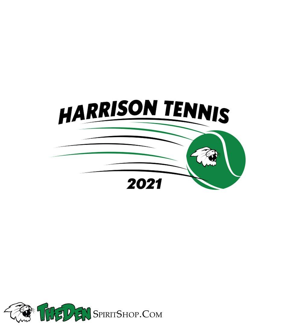Image of Women's Tennis  Tee, Grey