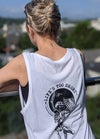 LTS Summer Solstice White Tank Top