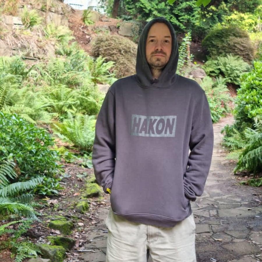 Image of Grey on Grey Big Banner Hood