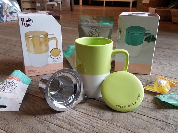 Image of Delia Ceramic Mug and Infuser