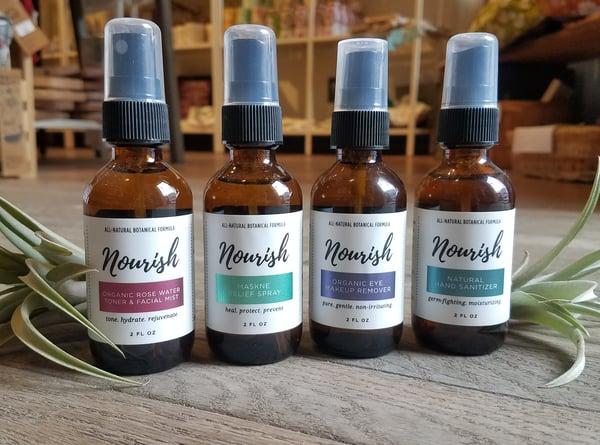 Image of Nourish 2oz Spray Bottles