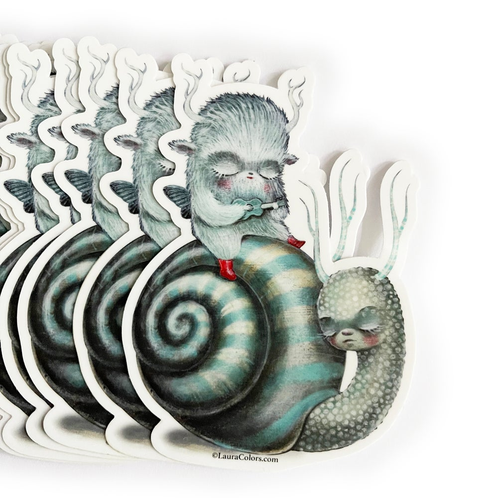 Image of Slow Excursion (Sticker)