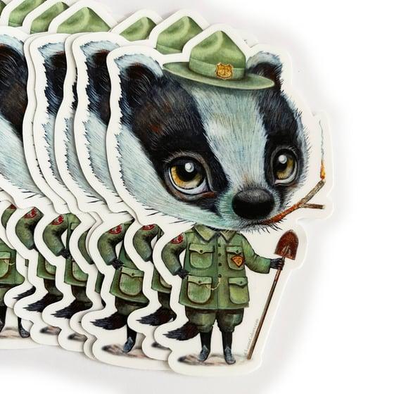 Image of Ranger Badger (Sticker)