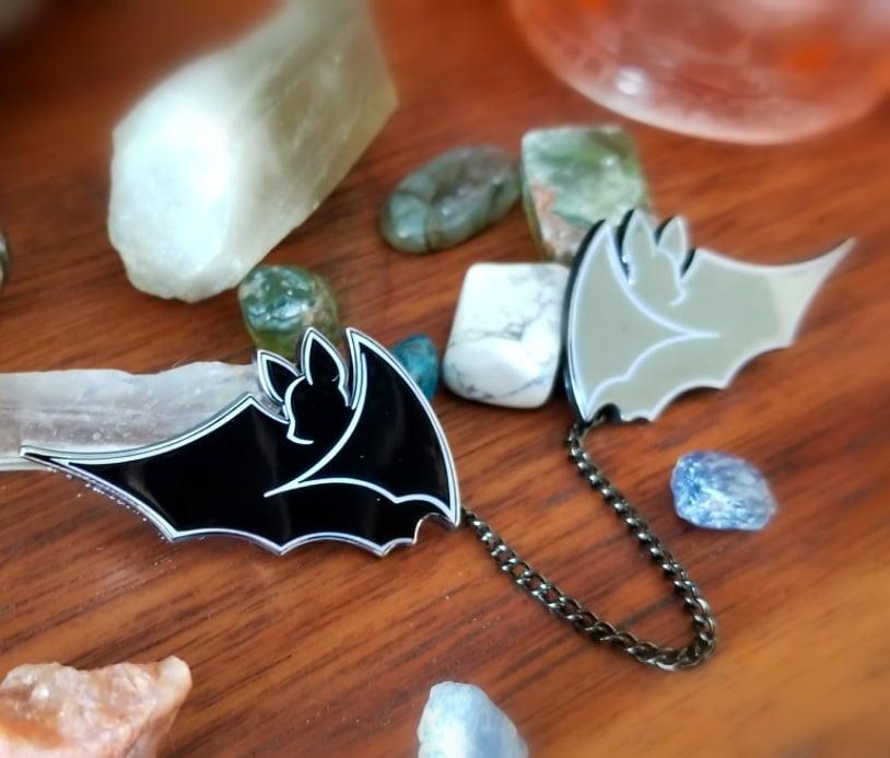 Image of Bat Collar Pins