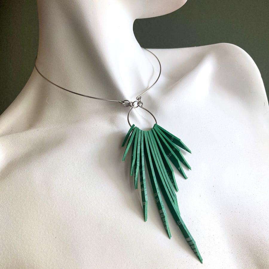 Image of Spirit Collection - Fringe V.2 Split Ring Necklace