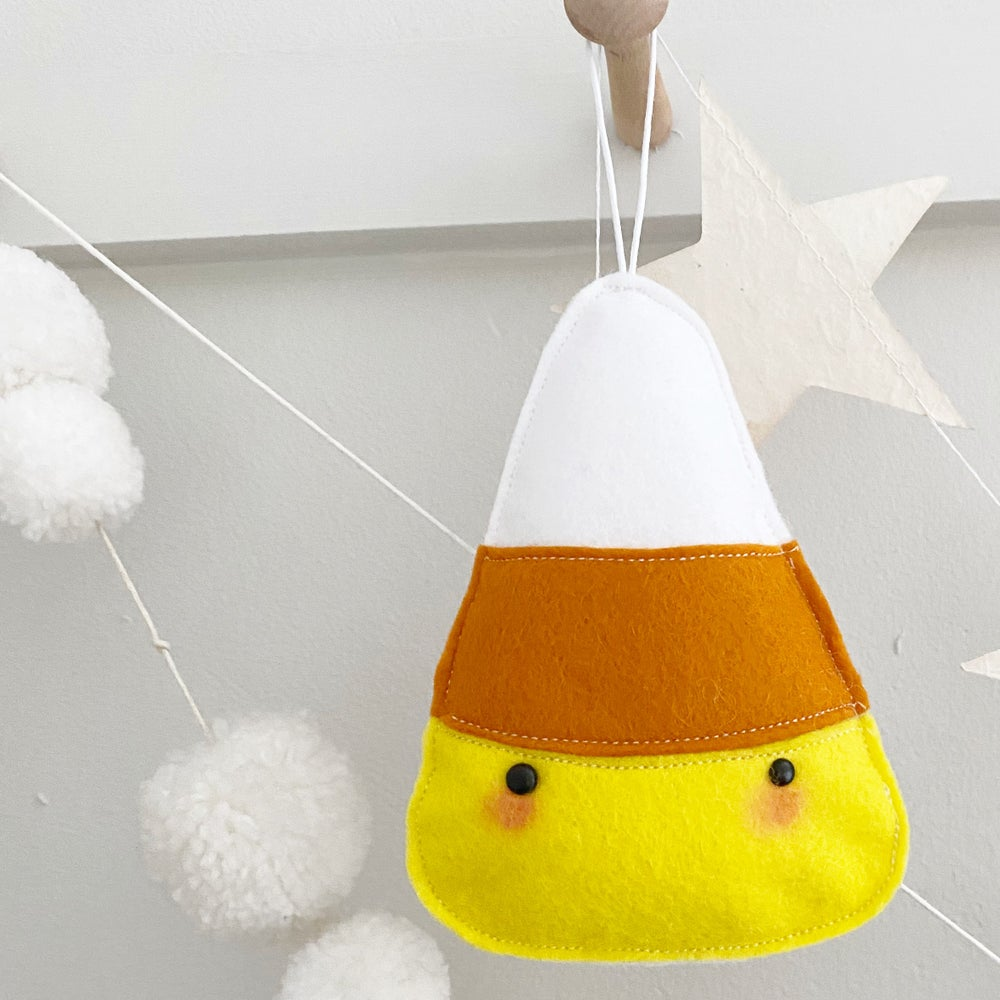Image of Candy corn decoration