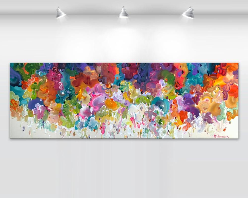 Image of Ludere iris - 152x50cm