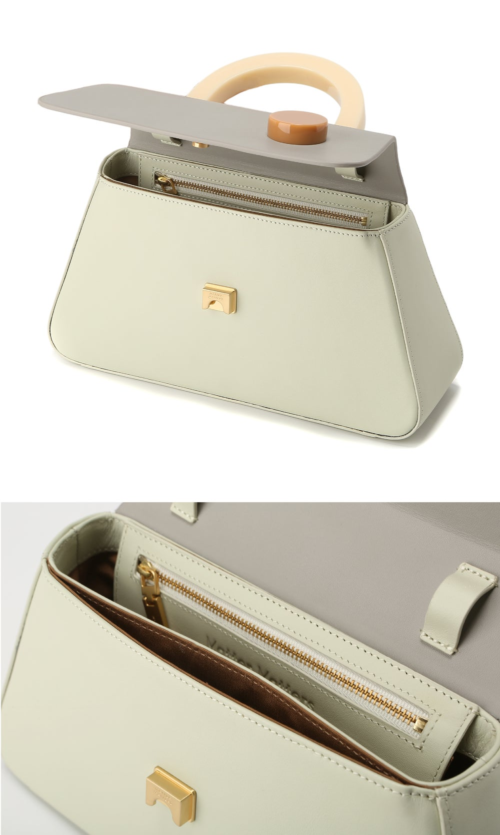 Alice Flap Bag • GREY with strap