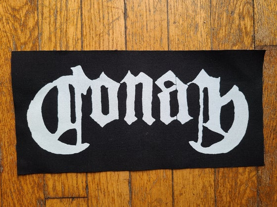 Image of Brand New!! Conan Solid Logo Back Patches