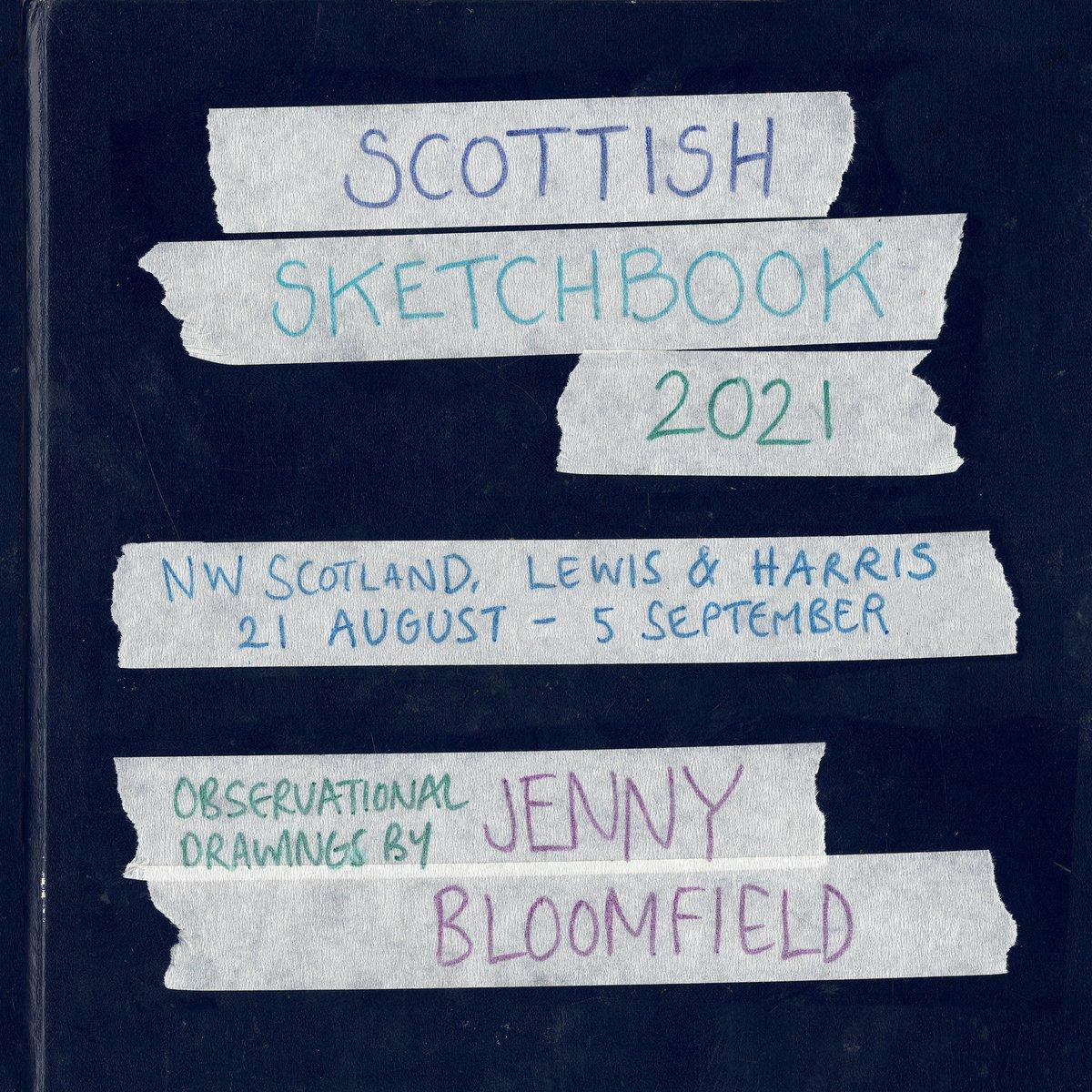 Image of **PREORDER** 2021 Scottish Sketchbook - Sketchbook Zine
