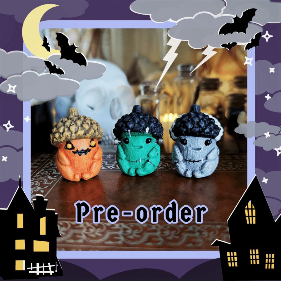 Image of 2021 Halloween Acorn Babies Pre-Order