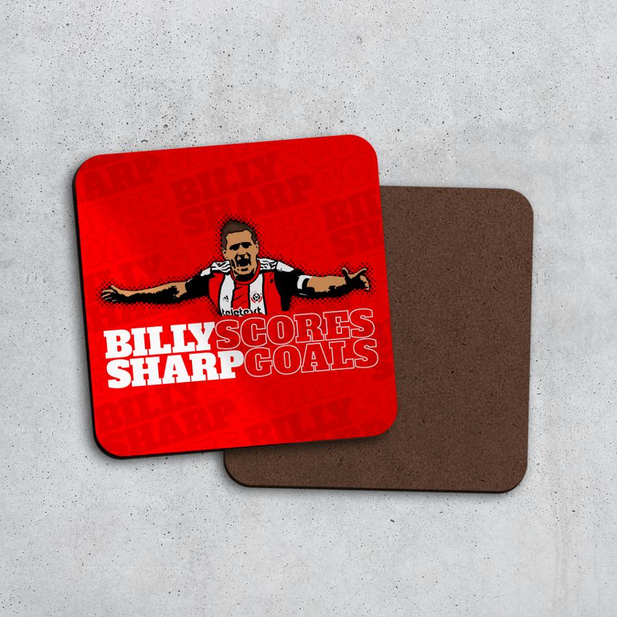 Image of Billy Sharp Scores Goals Coaster