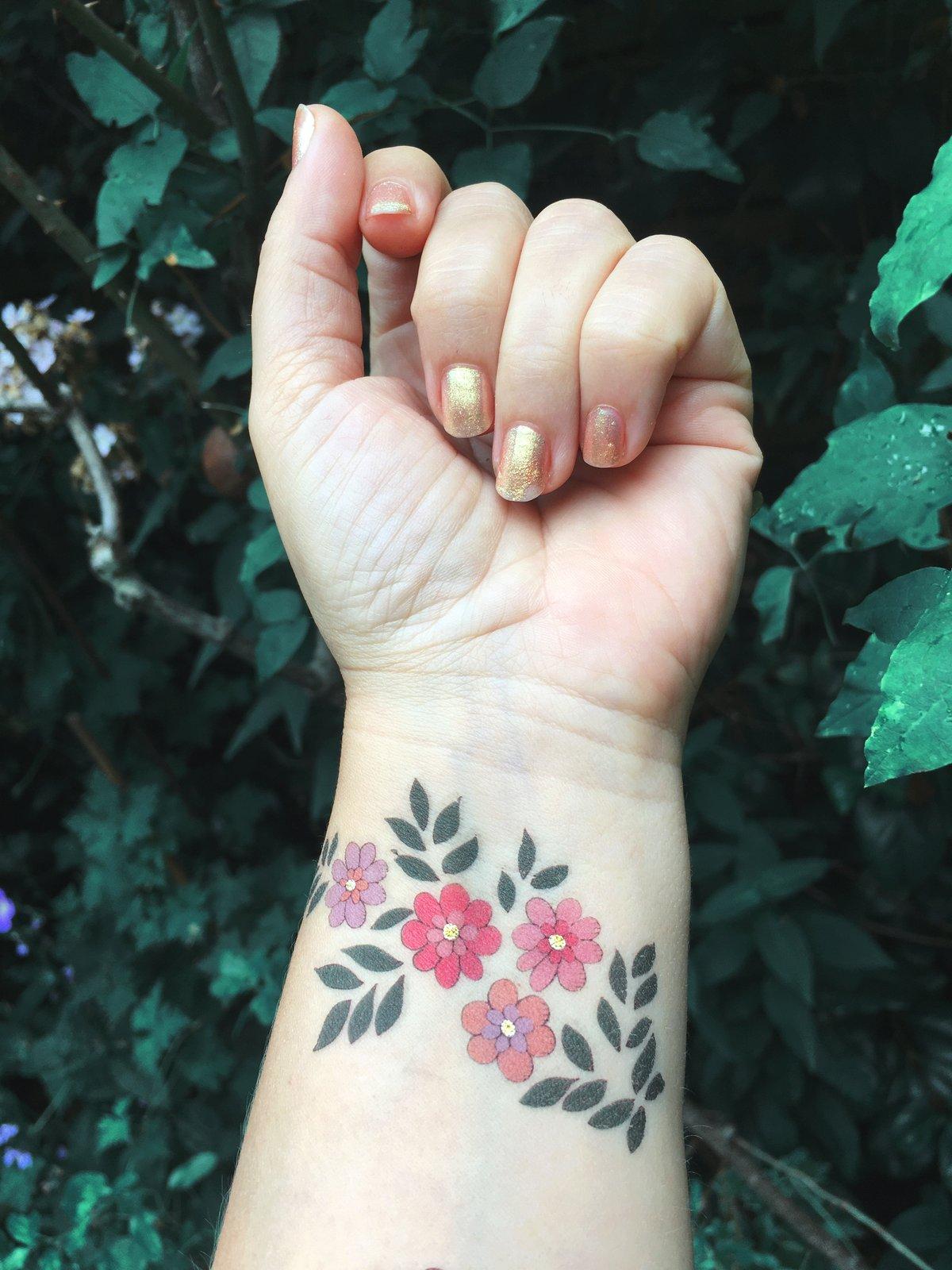 **NEW** Victorian Jewellery A5 Temporary Tattoos