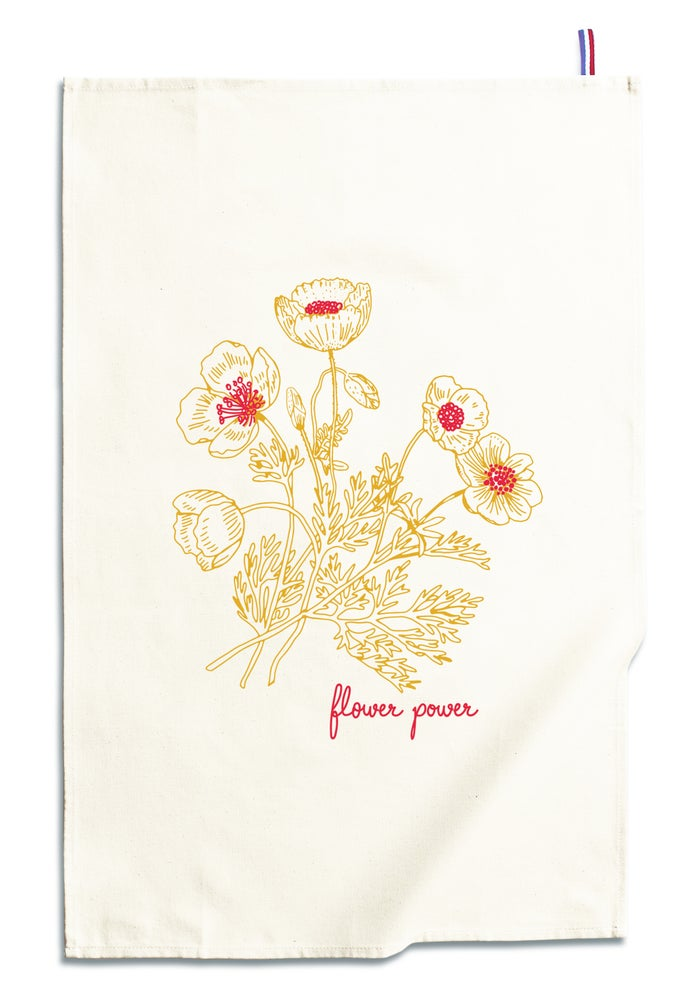 Image of TORCHON FLOWER POWER