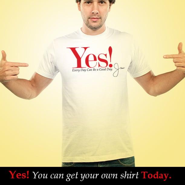 Image of Yes! T-shirt (White)