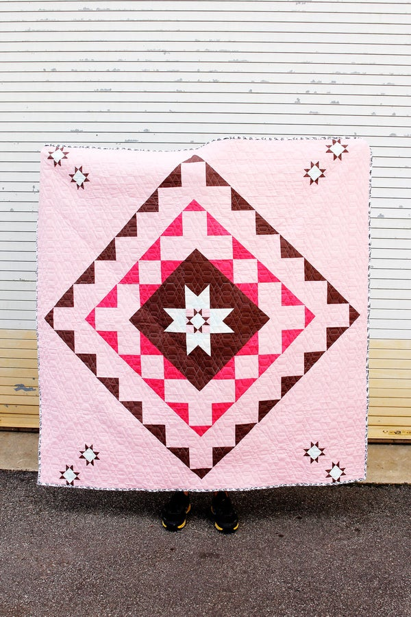 Image of DOILY SQUARE QUILT pattern PDF