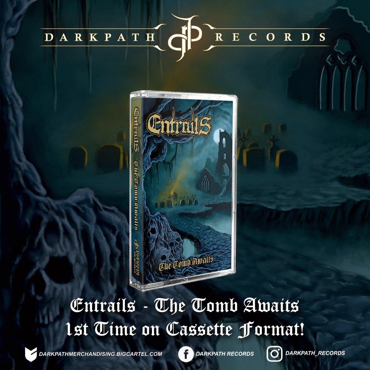 Image of ENTRAILS - 2 Albums Tape