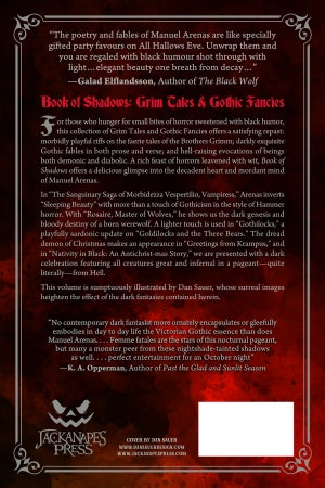 Image of Book of Shadows: Grim Tales and Gothic Fancies - PREORDER