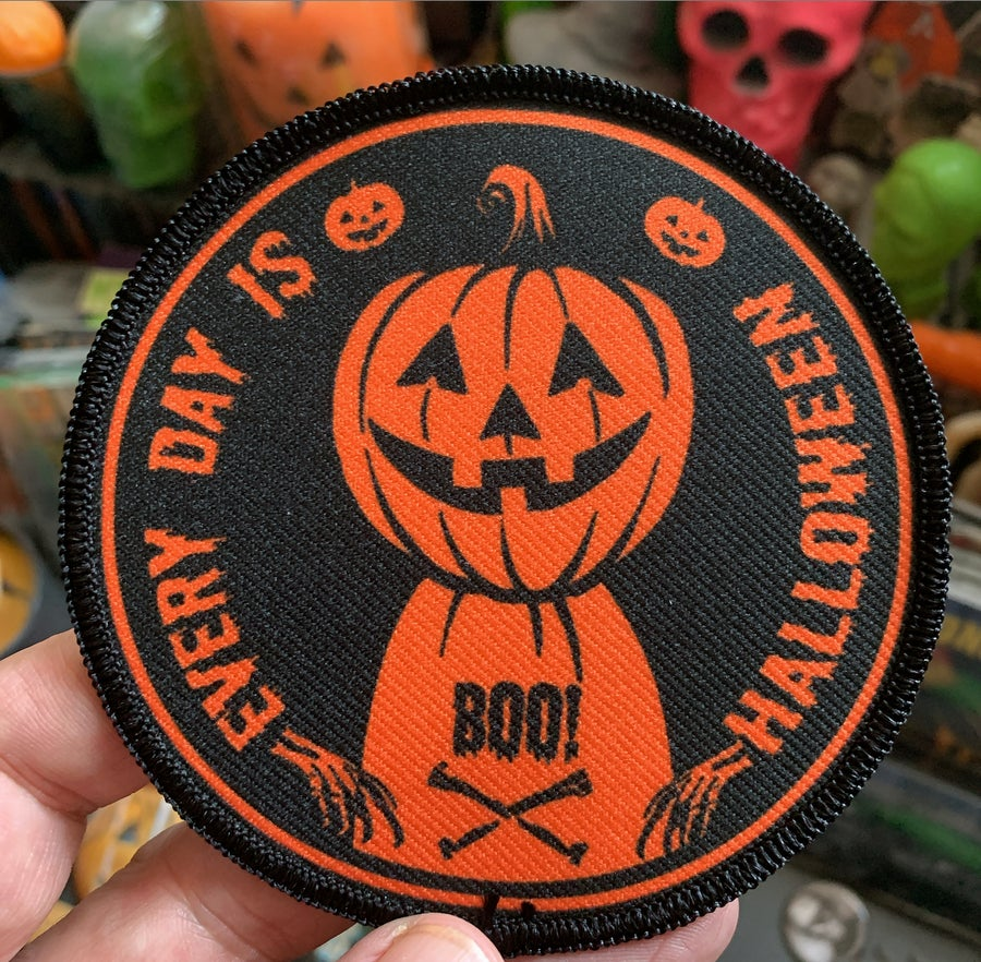 Image of Boo every day is Halloween patch