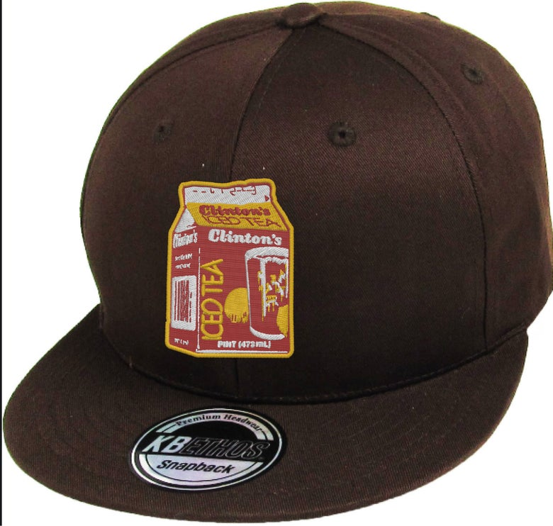 Image of EMBROIDERED CLINTONS ICE TEA SNAPBACK HAT (PREORDER SHIPS OCT 3RD)