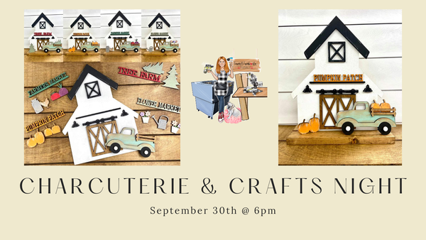 Image of Charcuterie & Crafts Night on September 30th