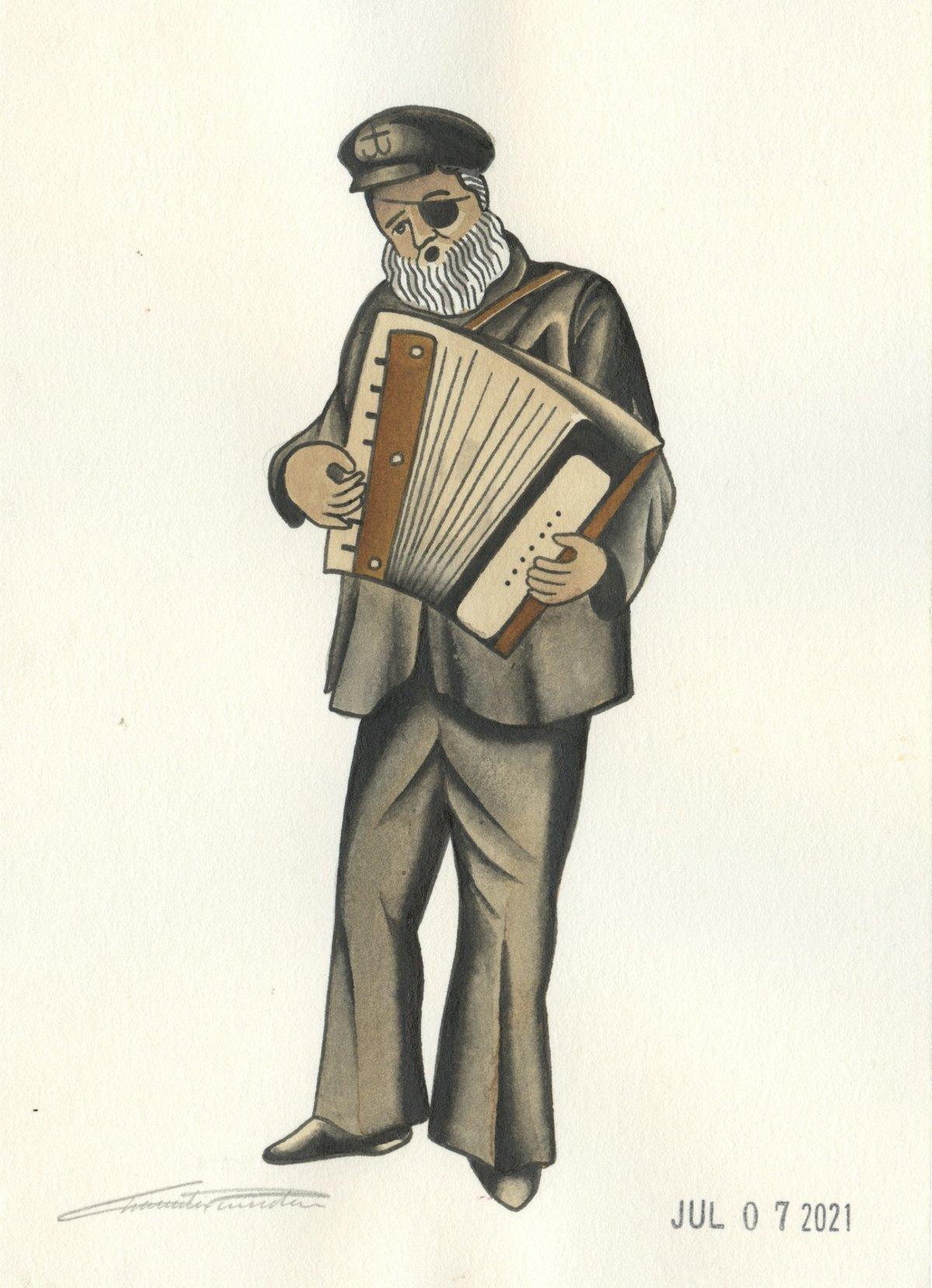 Image of Ol' Sailor (Original)