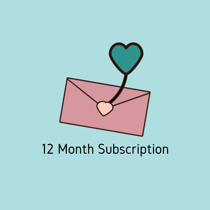 Image of 12 Month Subscription