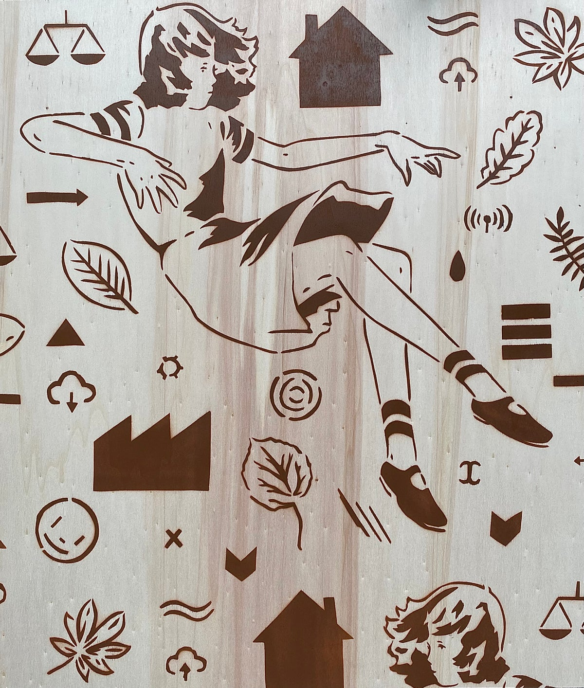 Image of Preoccupations Print
