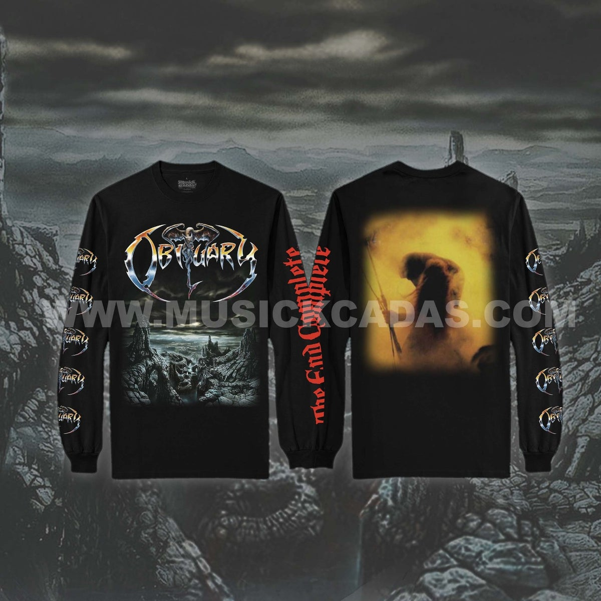 Image of Obituary - The End Complete