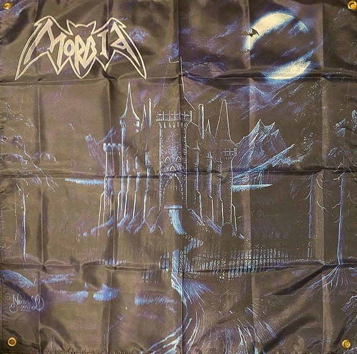 "Image of Morbid "" December Moon ""  Flag / Banner / Tapestry"